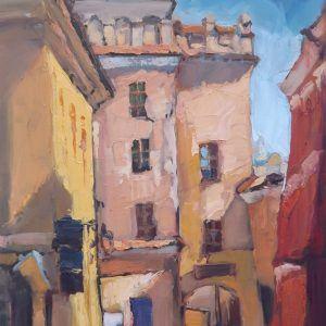 Roman Gruszecki: Ulica za murem w Lublinie