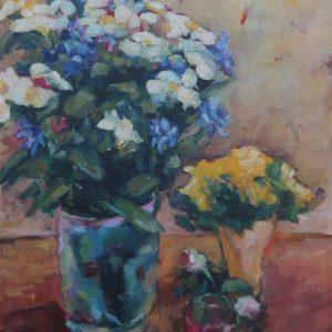 Agnieszka Gruszecka Kwiaty w donicach