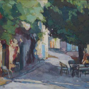 Roman Gruszecki Kawiarnia w Augines