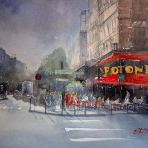 Paryż - Olaf Olasiński