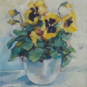 Agnieszka Gruszecka - obraz Bratki