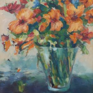 Agnieszka Gruszecka - obraz Lilie