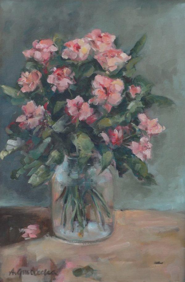 Agnieszka Gruszecka - Obraz Róże
