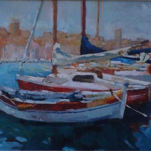 Port w Marsylii Roman Gruszecki